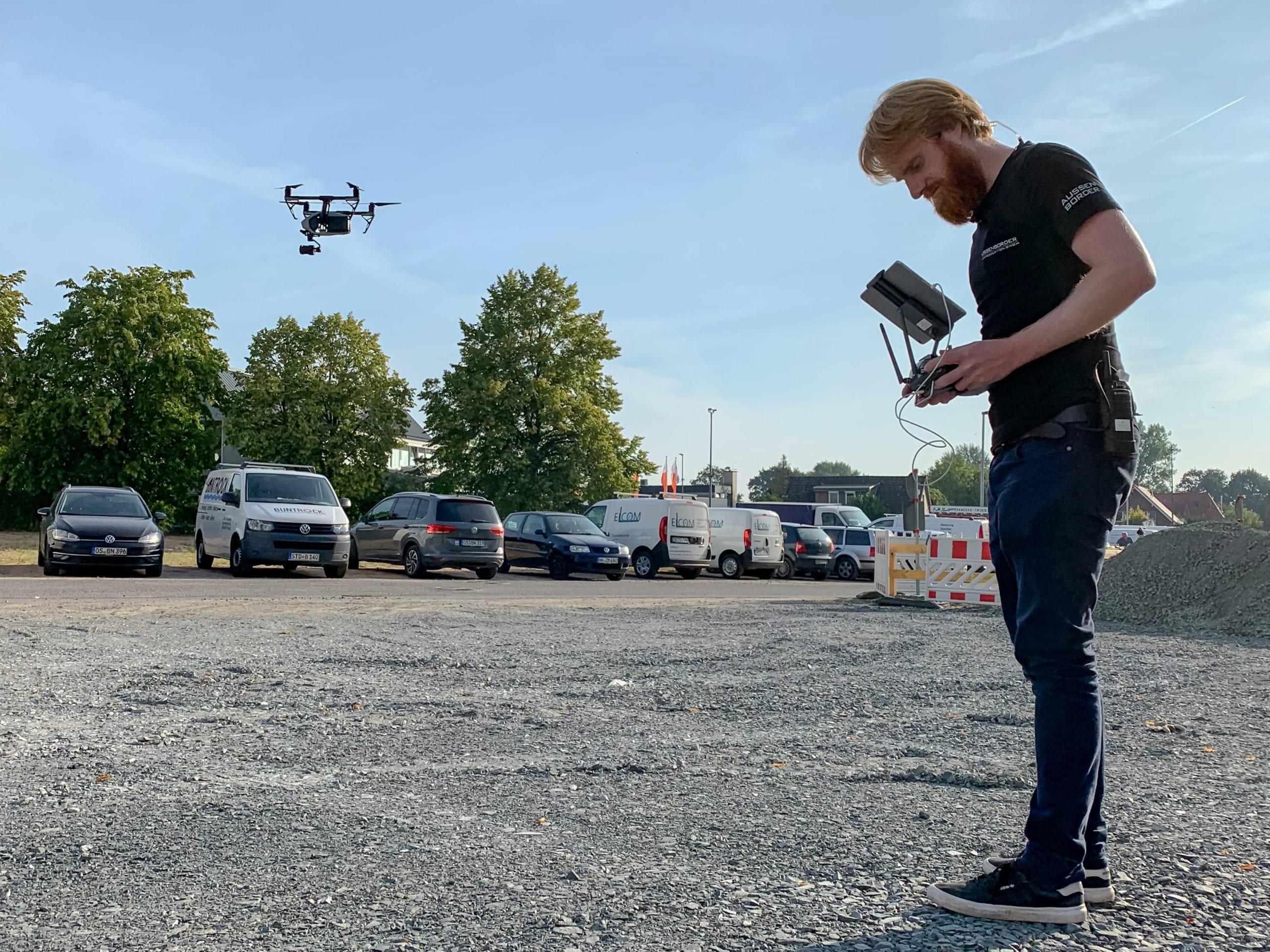Droneoperator Hamburg