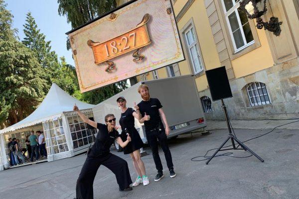 Team Event Filmproduktion