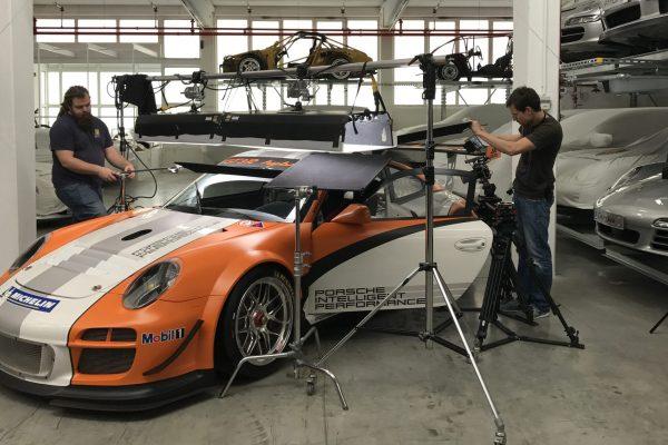 Film Porsche Filmdreh